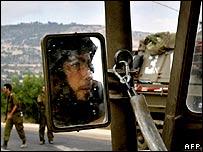 Tropas israelíes cerca de la frontera libanesa