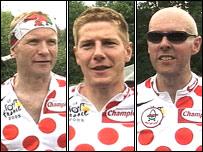 Aled Evans, Steffan Hughes a Huw Davies