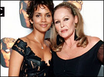 Bond girls Halle Berry and Ursula Andress