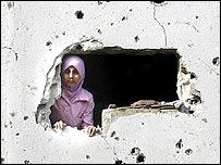 أثار الدمار جراء القصف الإسرائيلي على لبنان