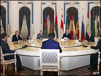 Во время саммита СНГ в Москве