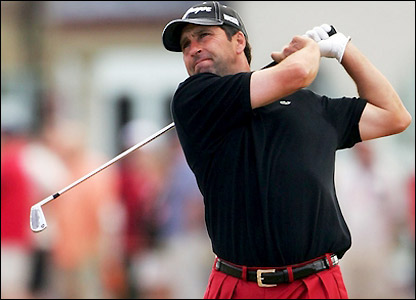 Jose Maria Olazabal tied for third in last year's championship