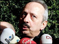 Turkish Football Federation chief Haluk Ulusoy