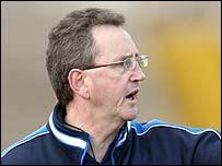 Antrim manager Mickey Culbert