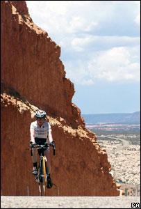 Jane Tomlinson on her Ride Across America