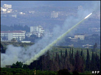 Hezbollah missile fired from Tyre