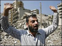 Beirut resident reacts to Israeli bombing