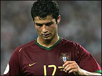 Portugal winger Cristiano Ronaldo