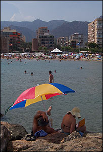 Benicassim beach