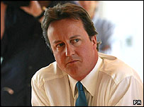 David Cameron, pictured last month in London