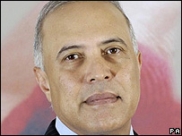 Vodafone chief executive Arun Sarin