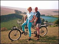 Jilly Goolden and Oz Clarke