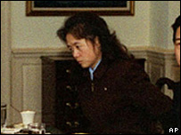 Kim Ok, seen in an October 2000 meeting between US Secretary of Defense William Cohen and North Korean official Jo Myong-rok