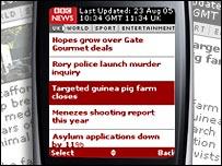The headlines tracker headlines page
