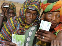Oxfam vouchers in Niger