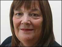 Rosemary Byrne - picture courtesy of the Scottish Parliament