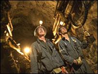 Falconbridge mine workers