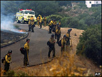 Californian firefighters
