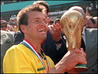 Dunga was skipper of Brazil's 1994 world champions
