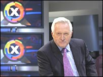 David Dimbleby on the BBC election programme