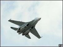 Sukhoi Su-30 fighter jet