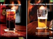 Anti drink-drive campaign