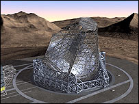 Artist's impression of the Owl   Image: Eso