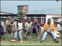 Boys in the village of Masisi