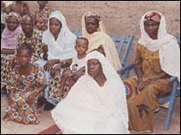 Mr Moussa and his wives