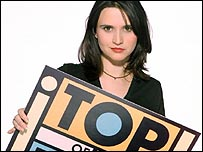 Jayne Middlemiss presents Top of the Pops