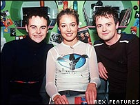 Anthony McPartlin, Cat Deeley and Declan Donnelly