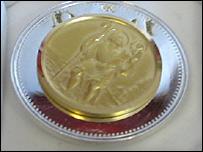 St Christopher medal