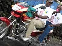 Bikes in Goma