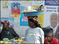 Posters in Kinshasa