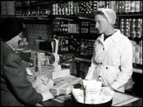 Scene from the 1940s