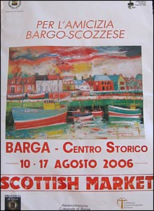 Scottish Market Poster