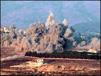 Israeli strike in Khiam, south Lebanon