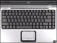 Hewlett-Packard computer