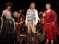 Артисты Большого театра на репетиции в Лондоне