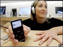 Apple iPod listener