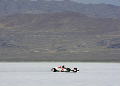 Alan van der Merwe finally reaches 400km/h in the Honda at Bonneville Salt Flats