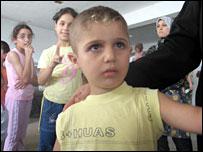 Refugee Abrahim Jaber