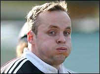 Munster full-back Christian Cullen