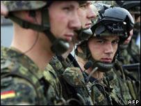 German commandos in Kinshasa