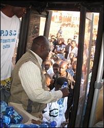Denis Kalonji's campaign director
