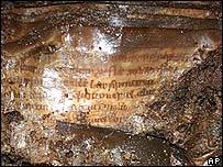 Manuscritos descubiertos en Irlanda