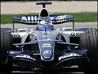 Williams driver Nico Rosberg