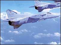 Sri Lankan fighter jet