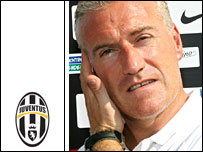 Juventus coach Didier Deschamps