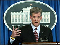 White House spokesman Tony Snow